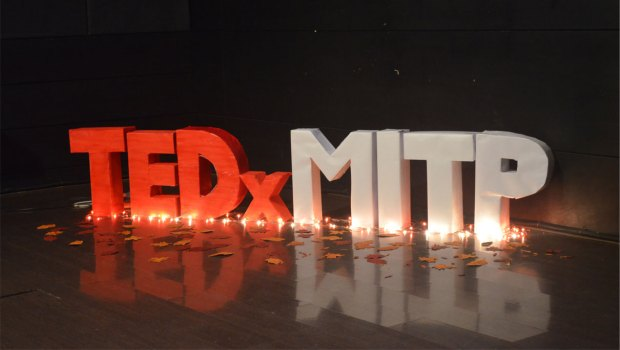 TEDx MITP conference Stage 2015