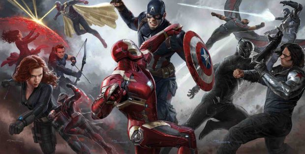 Captain america movie 2016