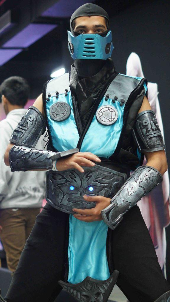 video games fest pune cosplay