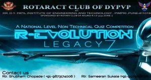 revolution 2016 events national quiz competition rotaract club of pune