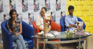 shweta mustare chaitanya gubbala book launch 1987 campus times pune crossword pune