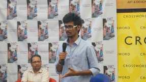 shweta mustare chaitanya gubbala book launch 1987 campus times pune crossword pune