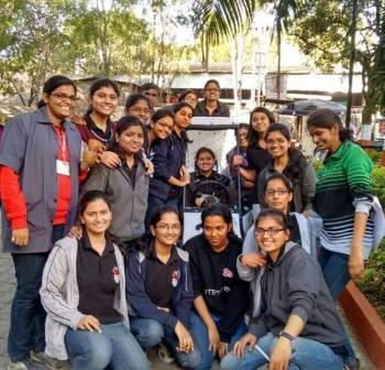 baja team cummins college of engineering students mechanical branch
