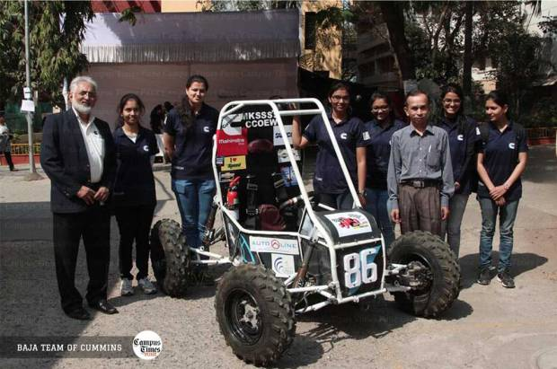 Baja-Team-of-Cummins-College-Pune