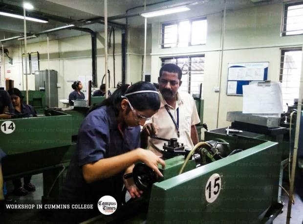 Mechanical-Workshop-Cummins-College-of-Engineering-Pune-Campus