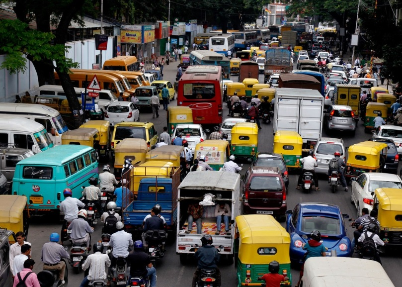 Image result for latest images of traffic in bengaluru