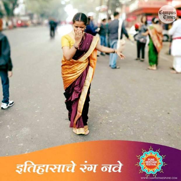 Pune-Heritage-Festival-2018-Marathi-Lady-Traditional-Costume