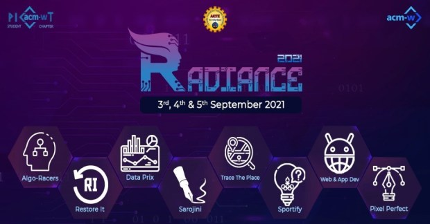 Radiance 2021 poster