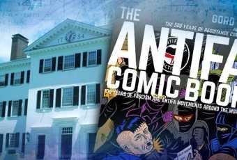 Dartmouth Prof Helps Write Antifa Comic Book