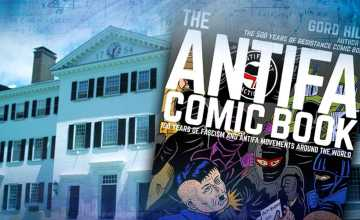 Dartmouth Prof Helps Write Antifa Comic Book