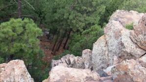 Rim cliffside