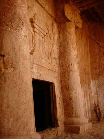 Tomb of Cyaxares, Qyzqapan, Sulaymaniyah. Iraqi Kurdistan