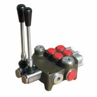 Distribuitor hidraulic cu 2 manete 80 litri