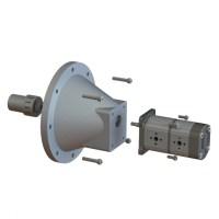 Kit pompa hidraulica actionata elevctric