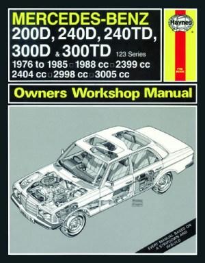 Mercedes Benz 200D, 240D, 240TD, 300D and 300TD  Haynes  NEW  workshop car manuals,repair