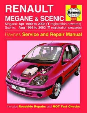 Renault Megane and Scenic  Haynes  workshop car manuals