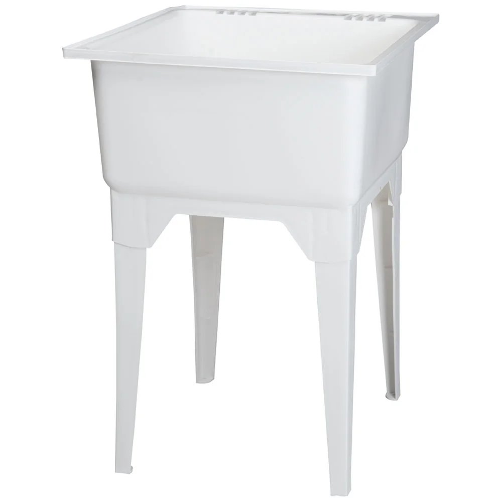 cuve de lavage blanc