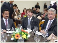 Sr. Gilberto Hirata, Jorge Cortés y Mario Zepeda