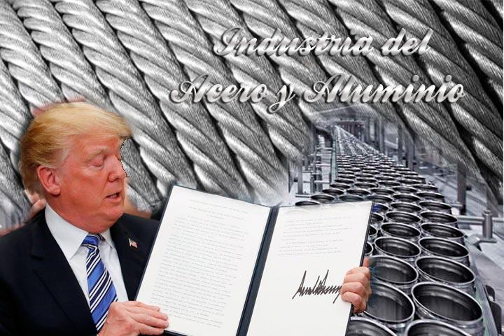 Aluminio y Acero; Aranceles impuestos por EU