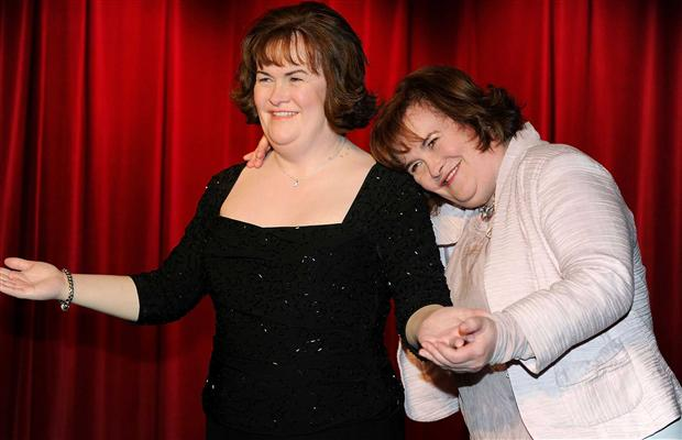 Singer Susan Boyle born April 1, 1961