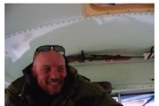 Guide with rifle Churchill Manitoba
