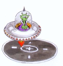 St Paul UFO Landing Pad