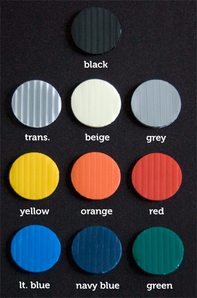 Coroplast Colour Chart