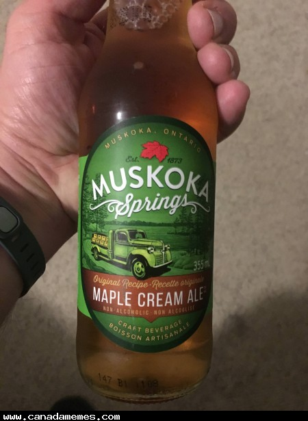 Heavenly Canadian nectar of the gods!
