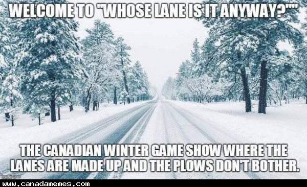 Whose lane is it anyway?