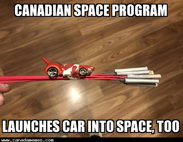 Canadian Space Programs response to Elon Musks SpaceX Launch