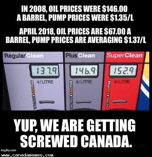 Yep, we're getting screwed