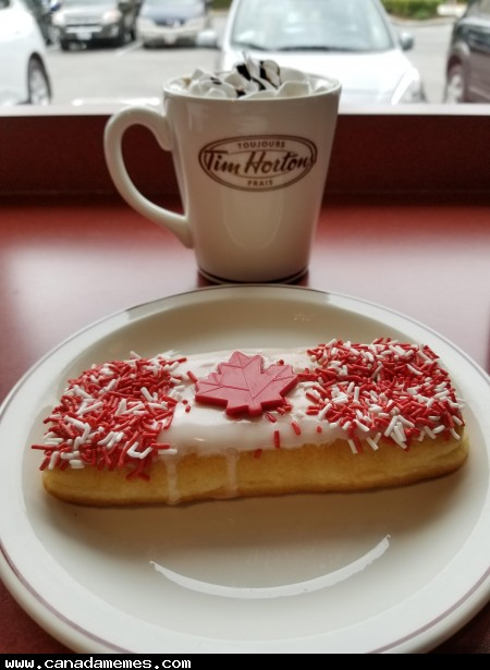 Tims has taken a lot of flack lately but I still wouldn't turn this down