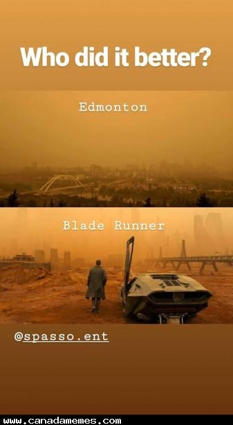 🇨🇦Edmonton VS Blade Runner