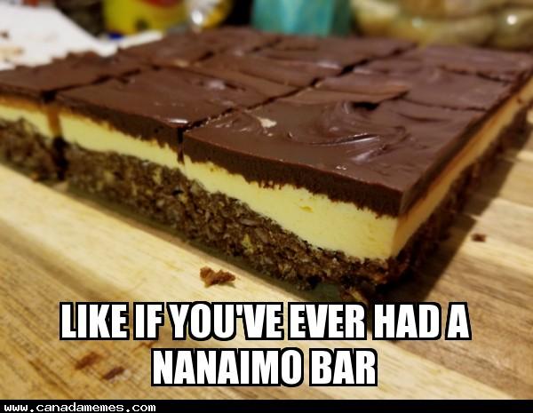 🇨🇦 LIKE if you've ever had a Nanaimo bar