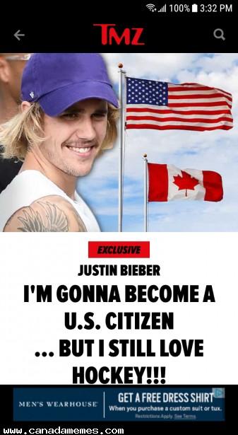 🇨🇦 Adios Justin