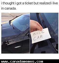 🇨🇦 Thought I got a ticket but realized i live in Canada