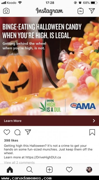 🇨🇦 Advertising in Canada is weird since legalization