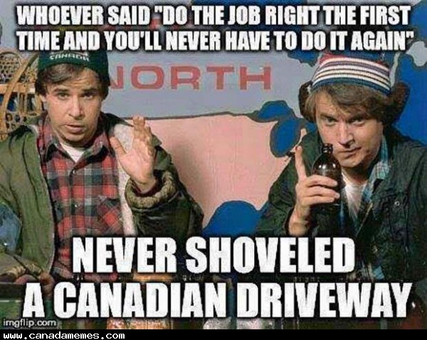 🇨🇦 Obviously you didn't do it right. Did you install the flamethrowers?