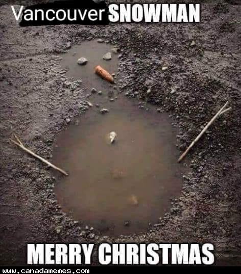 🇨🇦 Vancouver Snowman