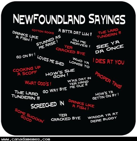🇨🇦 Newfoundland Sayings: Often only understood by those on the rock