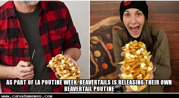 🇨🇦 So apparently Poutine BeaverTails are a thing?! They look AMAZING!
