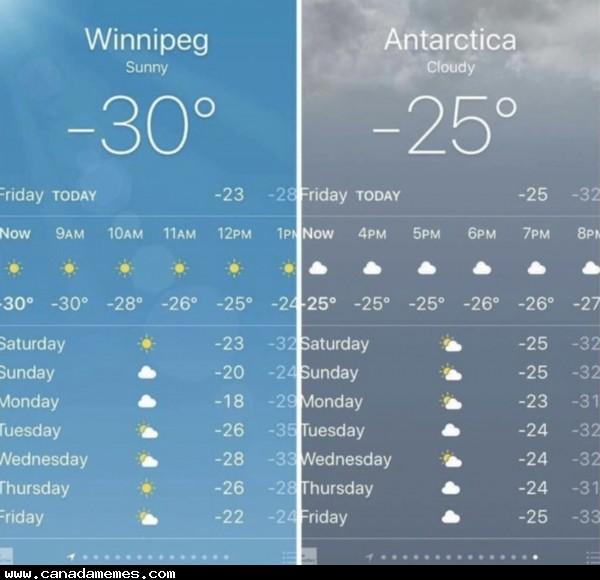 🇨🇦 Stay warm & stay safe, friends!