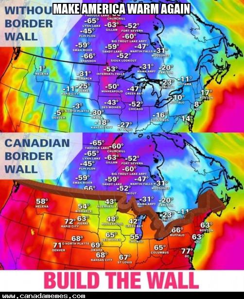 🇨🇦 Make America Warm Again