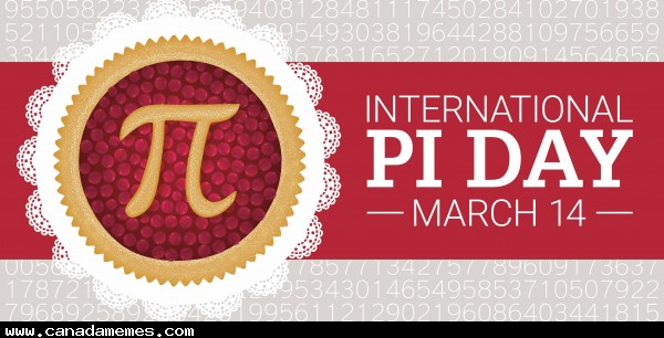 🇨🇦 Happy International Pi Day! Whats your favourite kind of pie?
