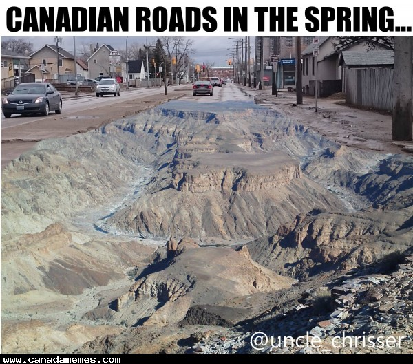 🇨🇦 Canadian roads in Spring