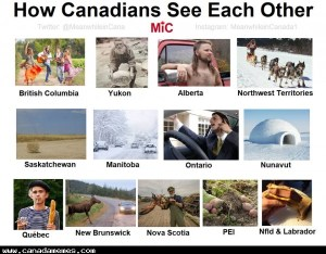🇨🇦 How Canadians See Each Other