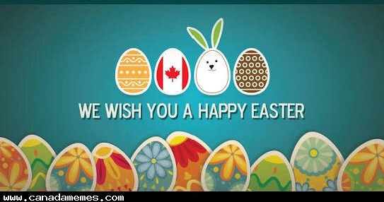🇨🇦 Happy Easter!
