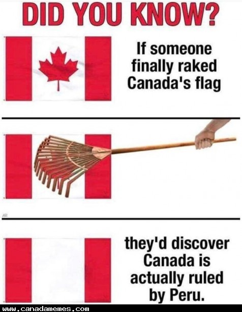 🇨🇦 It's actually been Peru all this time....