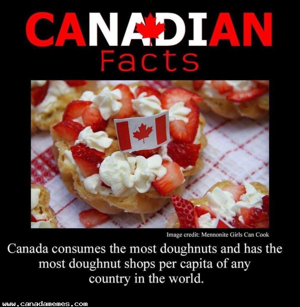 🇨🇦 We like our doughnuts up here!