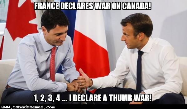 🇨🇦 France declares war on Canada!